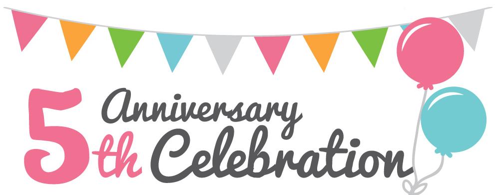 5 year service anniversary
