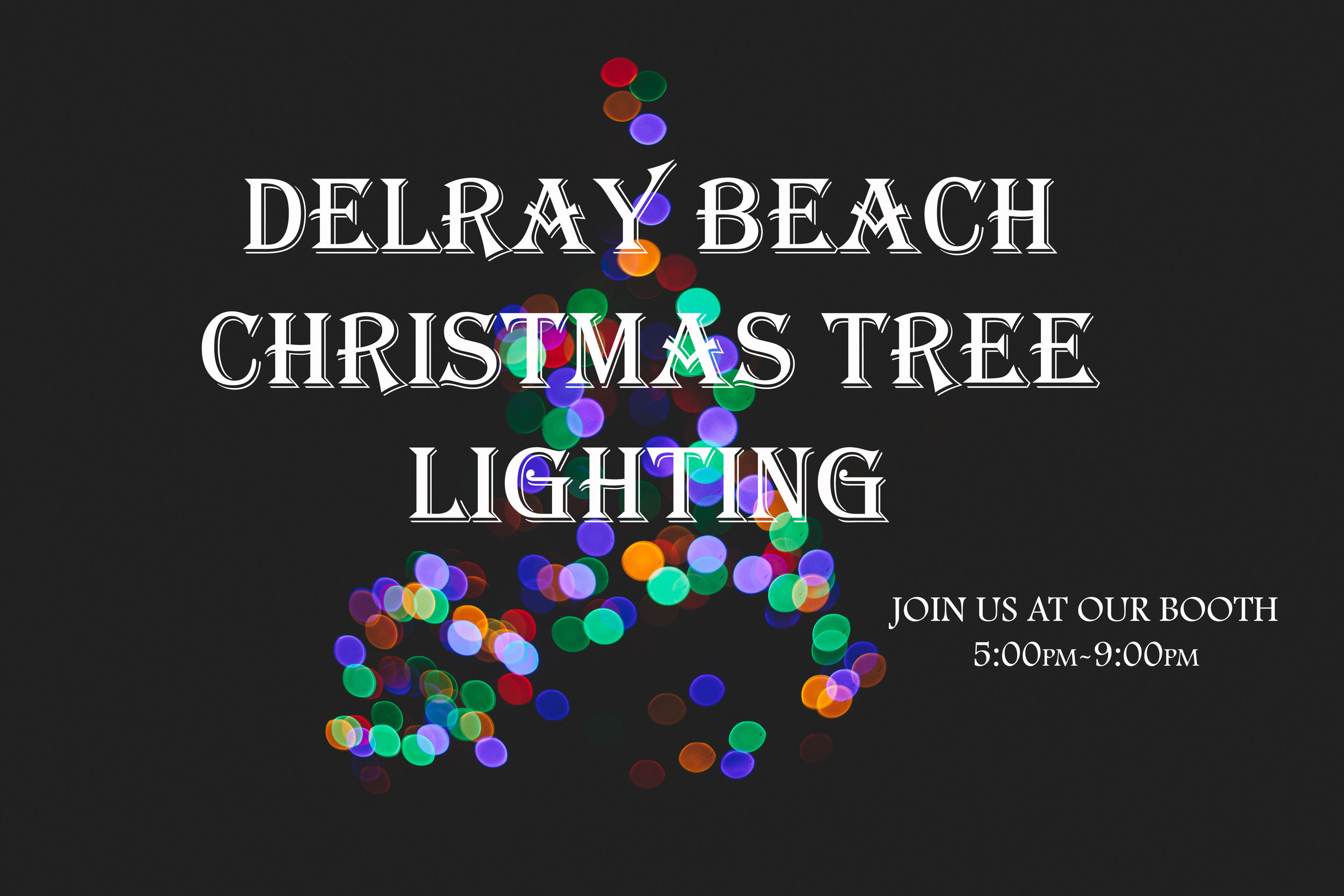 sc 1 st  The Avenue Church & Delray Beach Christmas Tree Lighting u2014 The Avenue Church