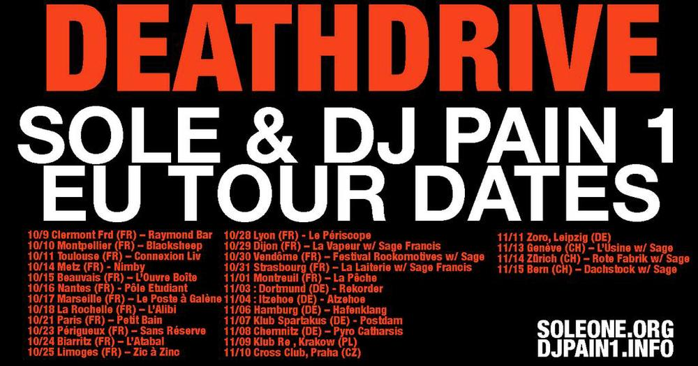 Death Drive World Tour