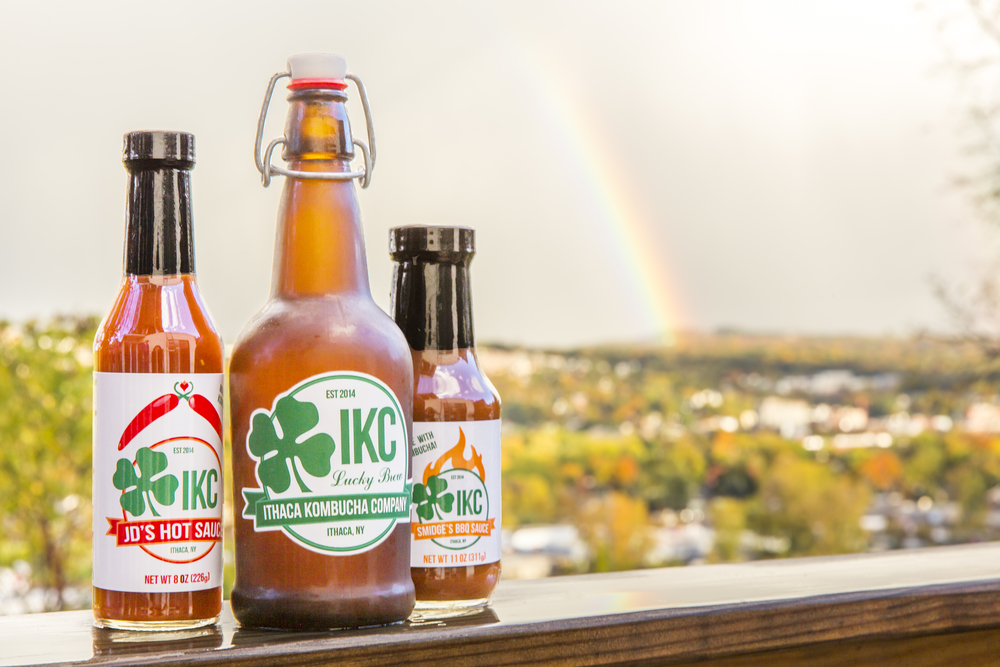 Ithaca Kombucha Company Products Under Ithaca Rainbow