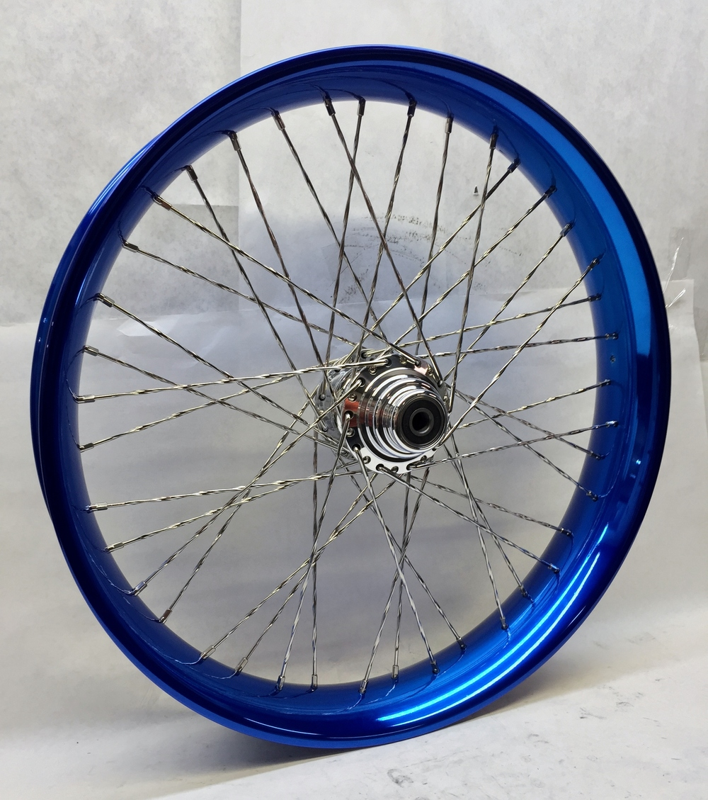 26x3.75 40 Cobalt Blue Profile Rim