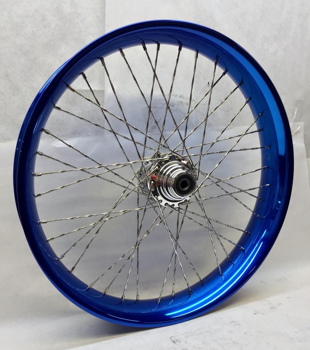 26x3.75 40 Cobalt Blue Profile Rim