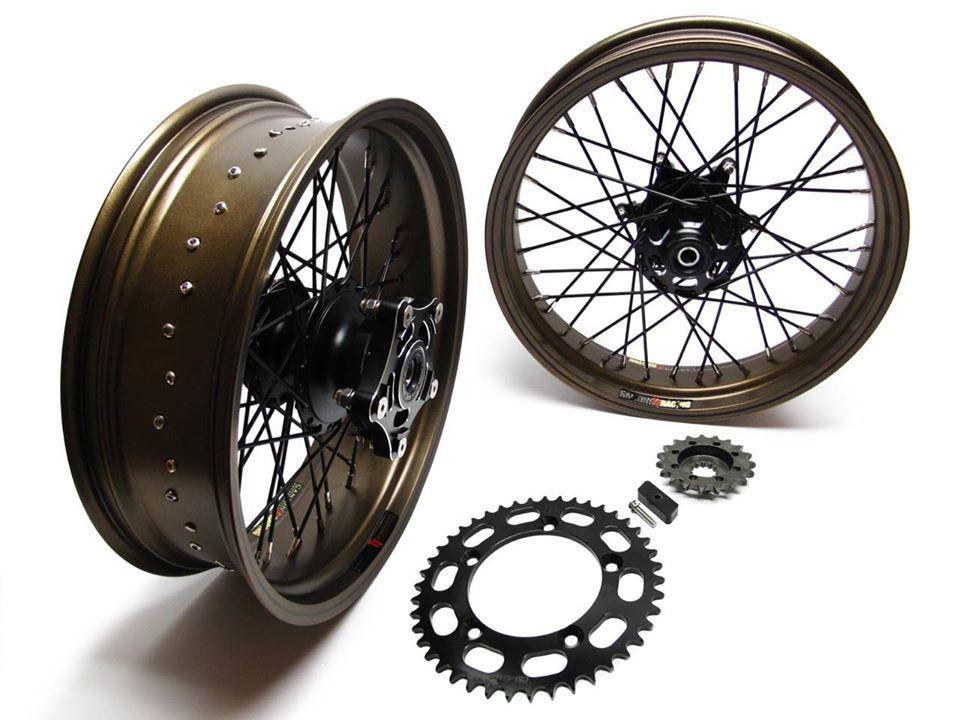 Custom Triumph Wheels