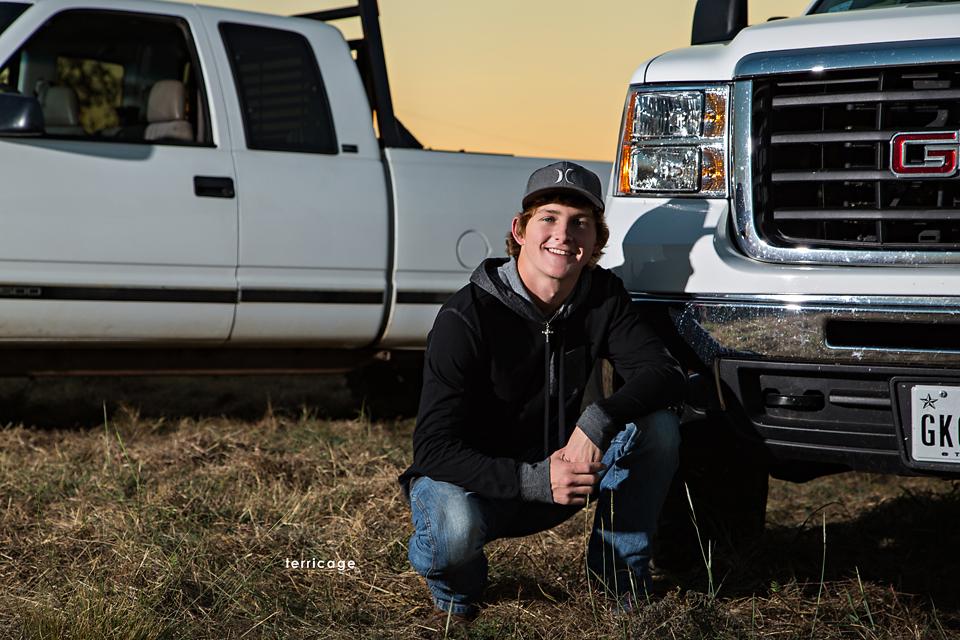 He likes his trucks #2