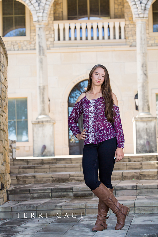 McKinney senior photographer