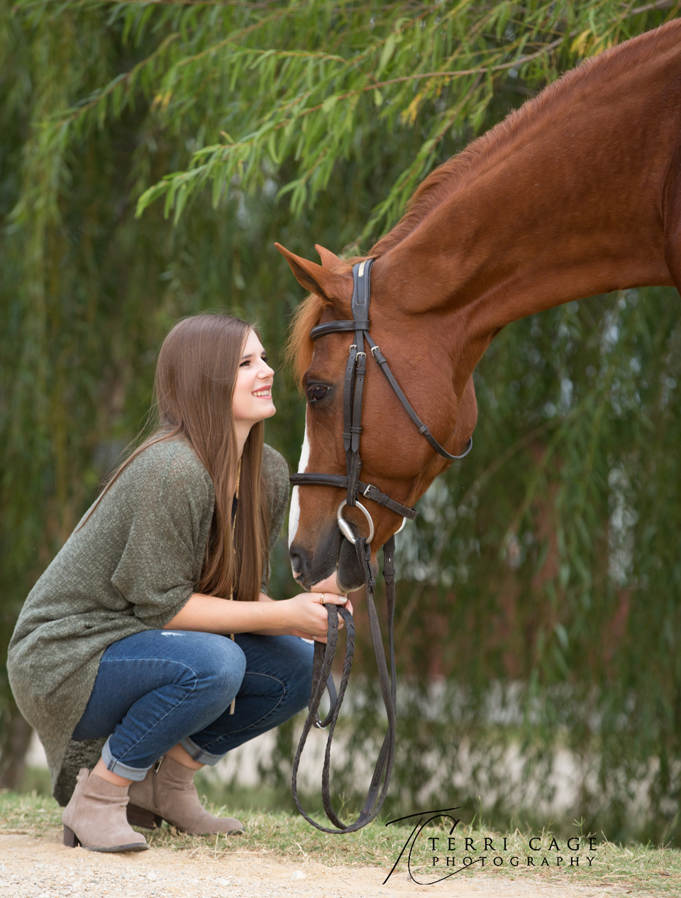 Horse and rider bond