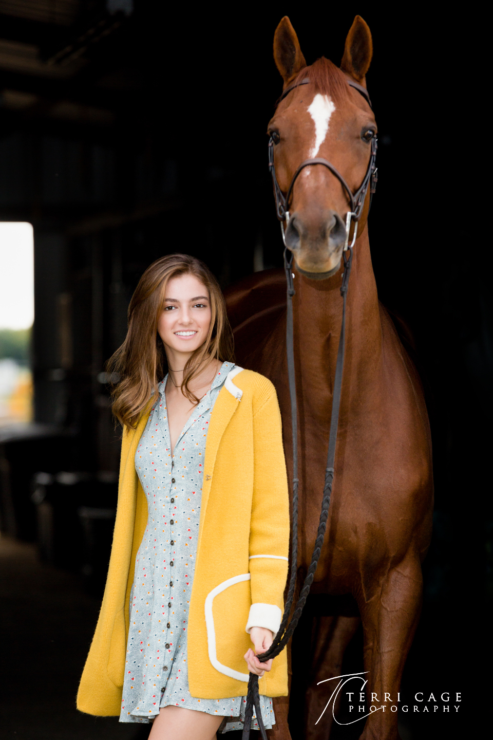 barndoor photos, equine, treeline, stables, senior portraits
