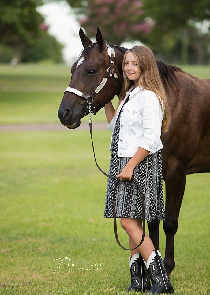 girls and horse, teen photographer, keller texas