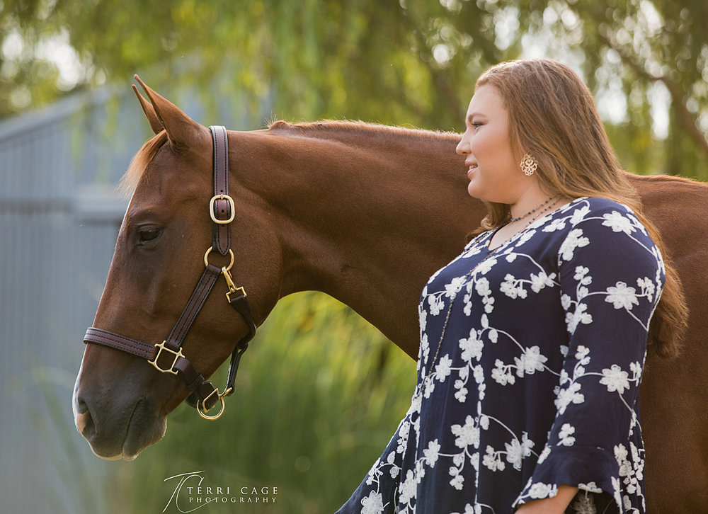 flower mound senior pictures, senior pics with horses