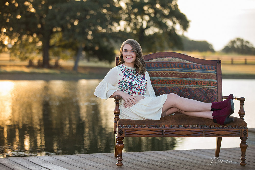 argyle senior session, fort worth senior, liberty christian