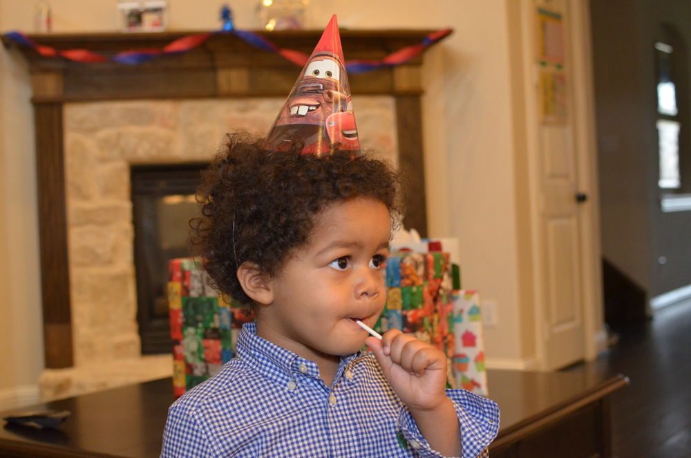 Day 666: Elliott celebrates his 3rd birthday