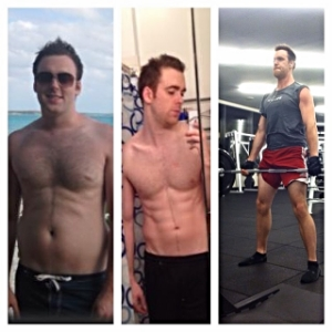 Transformation of one of my former clients,  @seanfredricks
