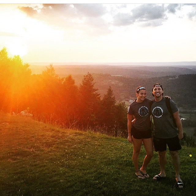 Spartan Race- #fbf from 2 weeks ago doing the 8 mile Super Spartan Race with my wife @mrsleaderlife. Beautiful view after the race on one of the many huge hills we had to go up and down. Challenge yourself and do new things! You won't regret a new experience. Thanks for pushing me to do this babe! ... Never again though. Lol #leaderlifefitness #nycpersonaltrainer #nycprivatetrainer #spartanrace #bettereveryday #nyctrainer #nycfit #superspartan #spartan #race #ocr #ocrtrainer #hills #view