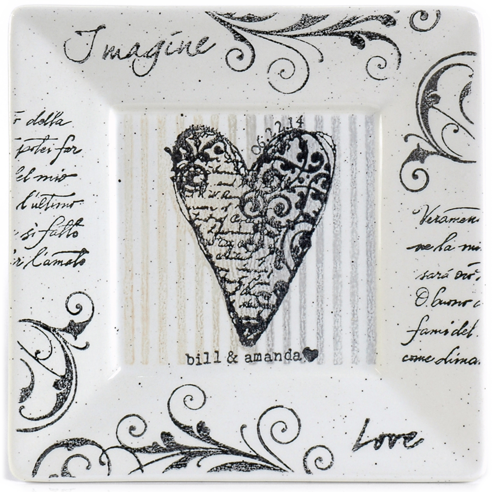 Imagine Love Plate