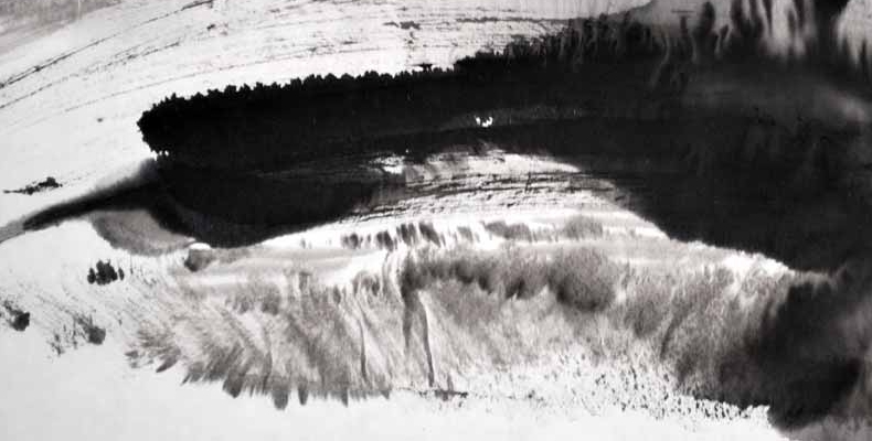 Winter Landscape Ink Brush - R. Moran.jpg