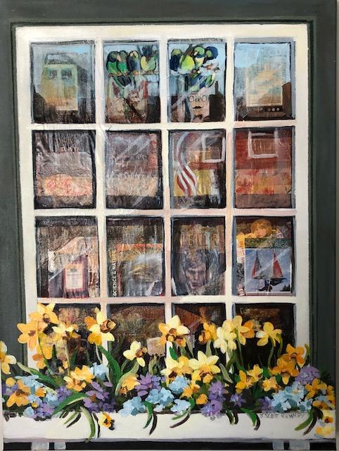 Nantucket Bookstore, Mixed Media, Susan Scott Kenney, 24 x18, $475.jpg