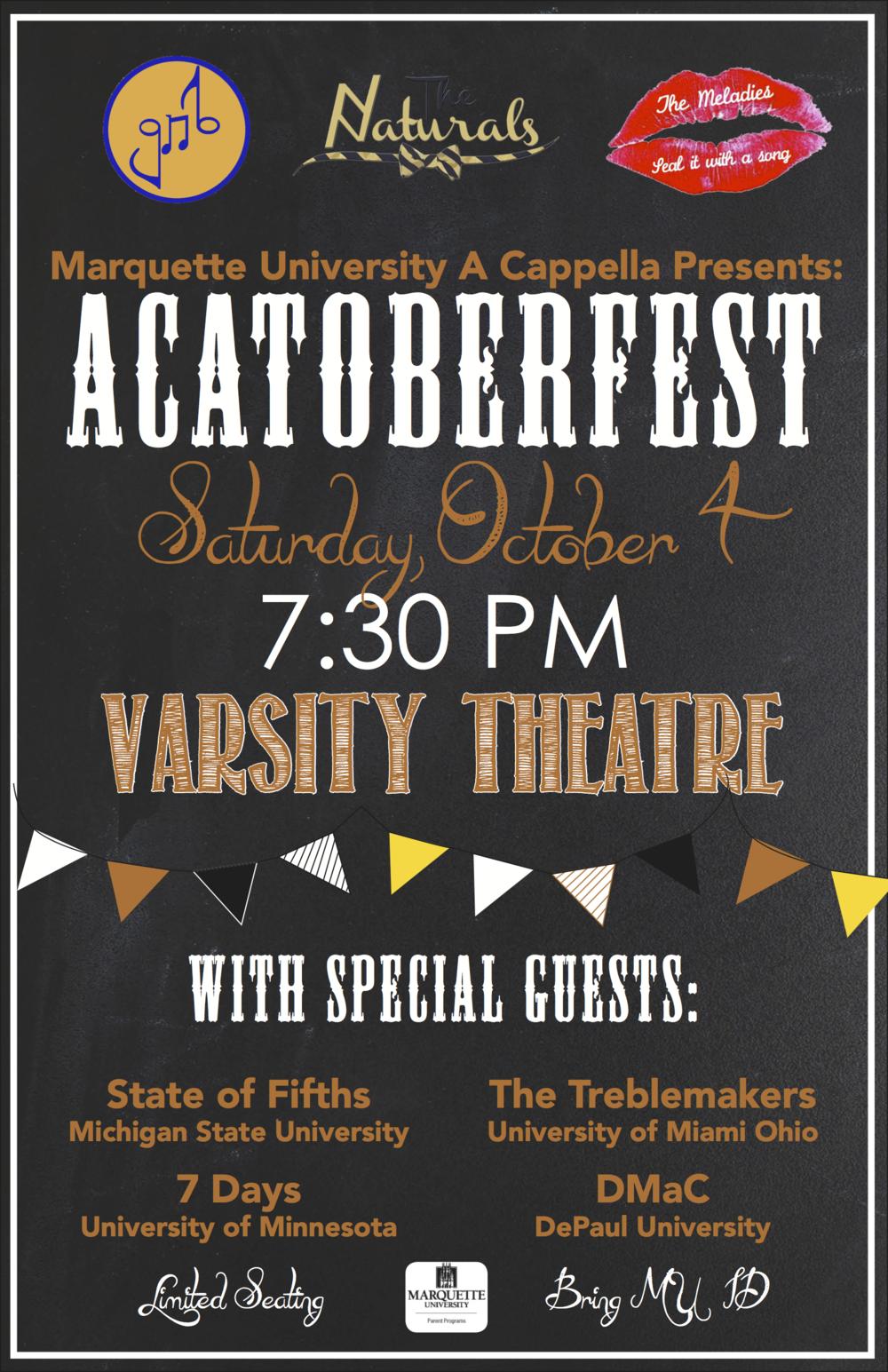 Acatoberfest poster (fuh dayz)