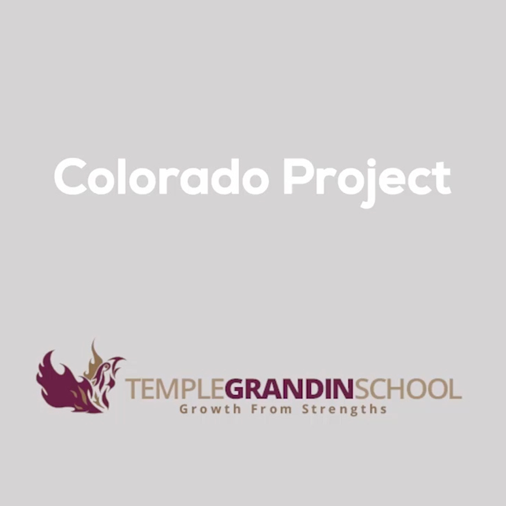 Using Video to help those with Aspergers   The students of Temple Grandin School in Boulder Colorado had an idea. They want to create original video content to help others with Aspergers. MobEffect gave them computers to help with this project and with other creative ventures for years to come.