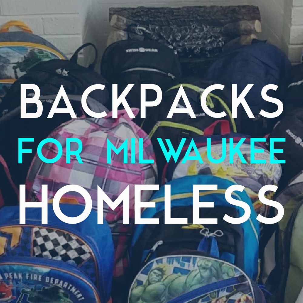 First user based project!   Hannah wanted to help the homeless community in Milwaukee. With the help of her friends and MobEffect she was able to fill backpacks with essentials to give out to those in need.