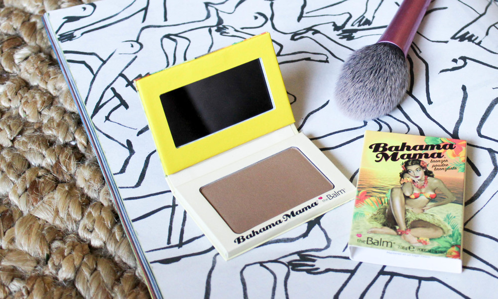 thebalm bahama mama review swatch one