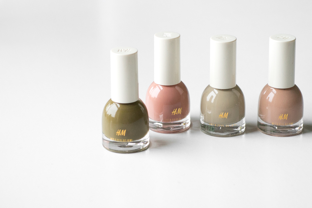 h&m beauty nail varnish review