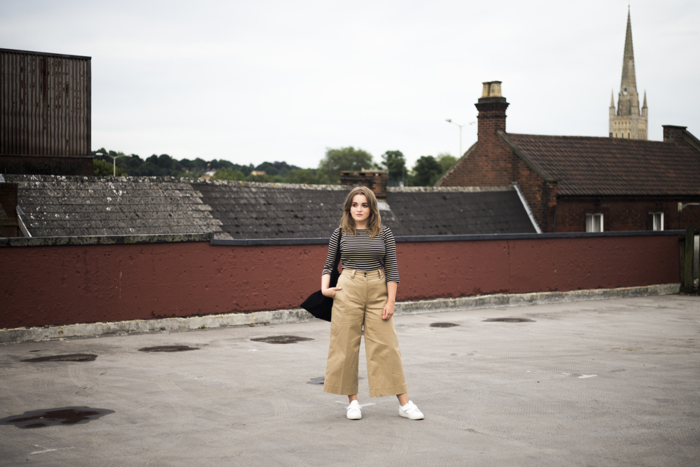whistles wide leg trousers
