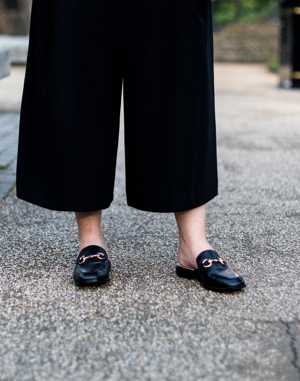 gucci backless slip on loafer dupes