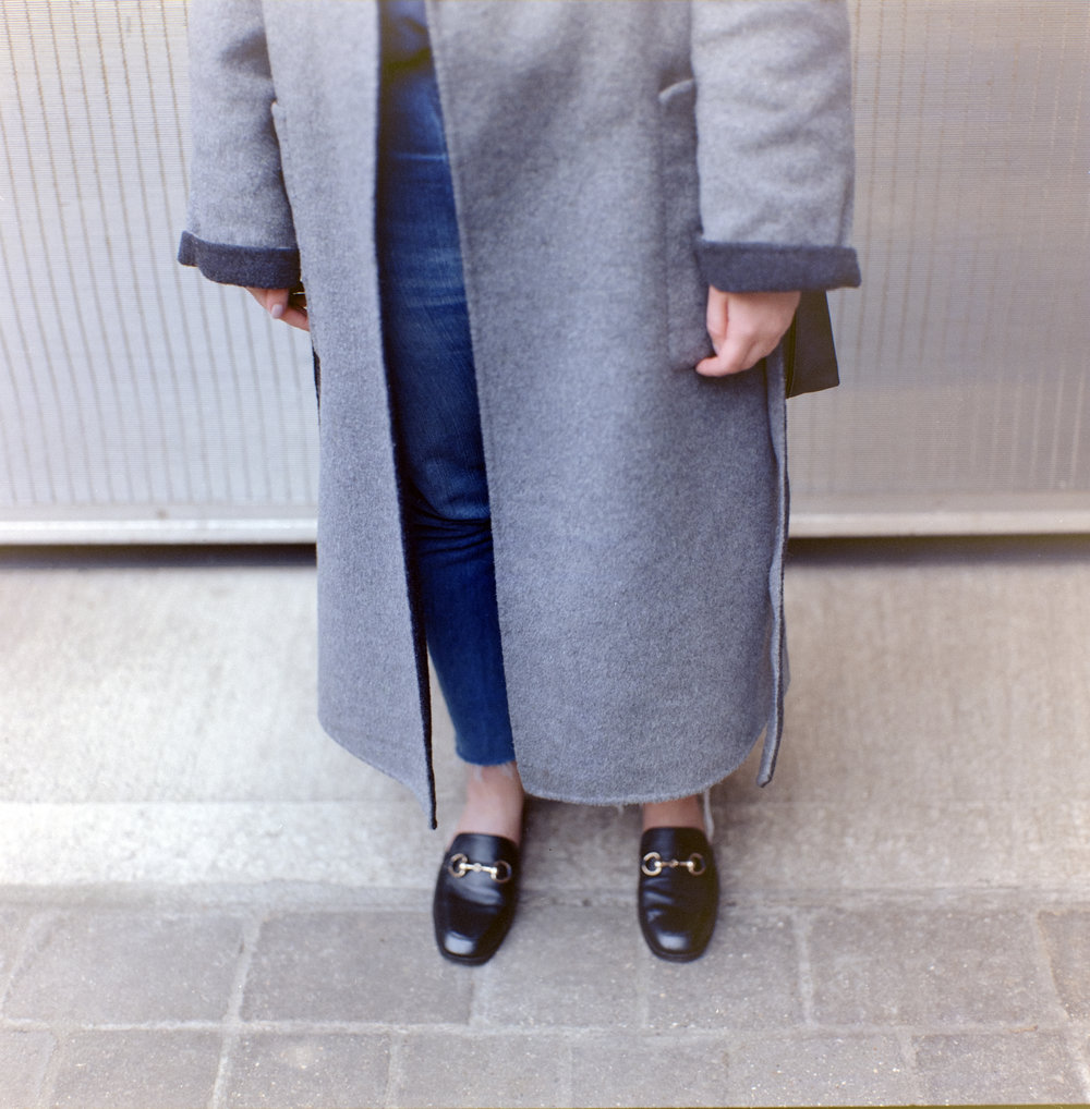 whistles wrap reversible coat