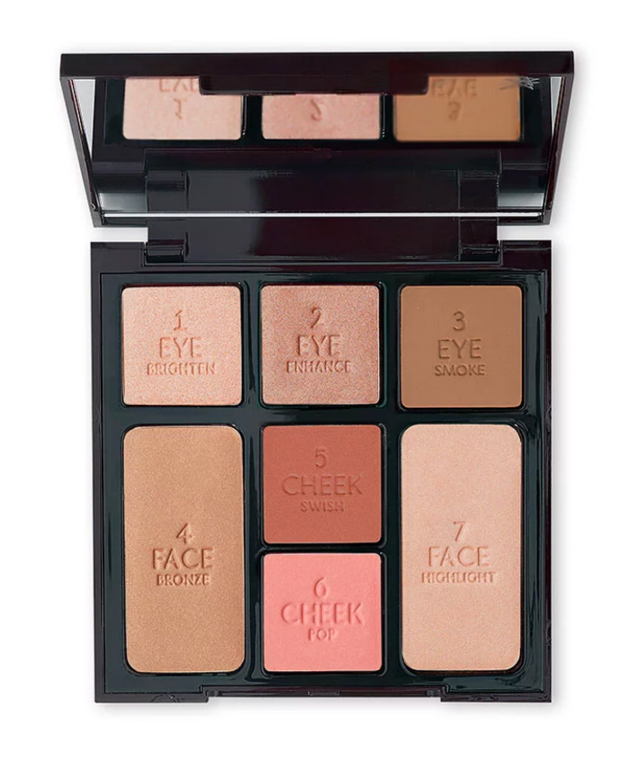 Instant Look in a Palette in Beauty Glow by Charlotte Tilbury, $75.00
