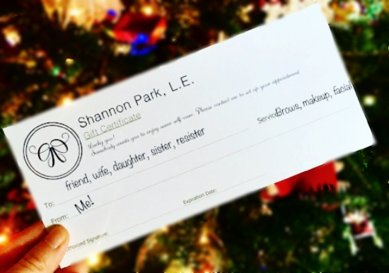 Paper Gift Certificates can be mailed to you or picked up.