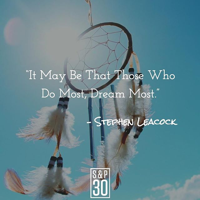 """If you don't have big dreams, how will you know how far to reach? ⠀ --⠀ """"It May Be That Those Who Do Most, Dream Most."""" – Stephen Leacock⠀ .⠀ .⠀ .⠀ .⠀ #dreambig #inspiration #inspiring #inspiringquote #inspiringquotes #inspiredlife #lifeinspired #hustle #riseandgrind #hustlehard #hustleharder #grind #dreams #lifegoals #quote #quotes #quotepic #dailywisdom #instaquote #qotd #quoteoftheday #instaquote #entrepreneur #entrepreneurquotes #entrepreneurlife #startup #bizquote #businessquote #businessquotes #startuplife"""