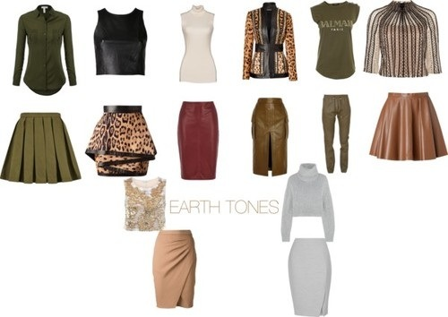 basically the title speaks for itself pastels with pastels earth tones with earth tones jewel tones with jewel tones etc - Earth Colors