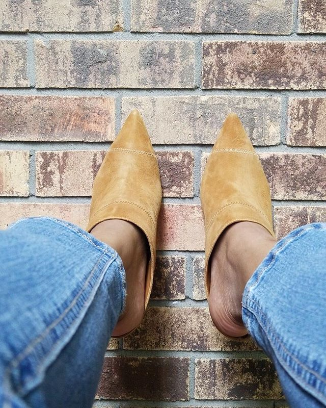 People want your life, until they have to walk in your shoes. Naked Truth . . . #shoes #mules #heels #riverisland