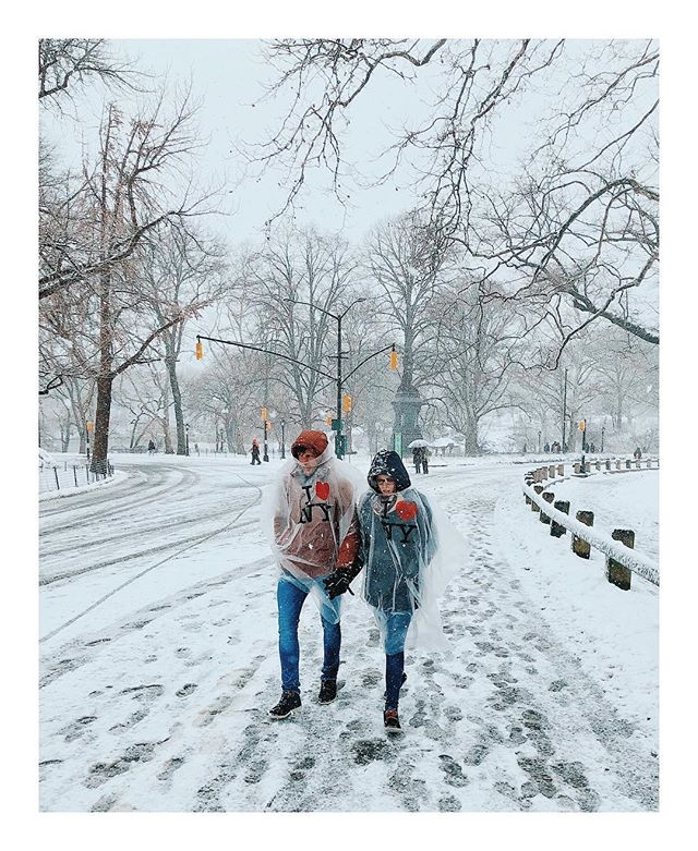 Þяøмэиįзgξ • • • • #NewYork #VSCO #NYC #vscocam #NewYorkCity #noreaster #shotoniphonex #iphoneography #shotoniphonex #CentralPark #Snow #noreaster2018 #snowpocalypse