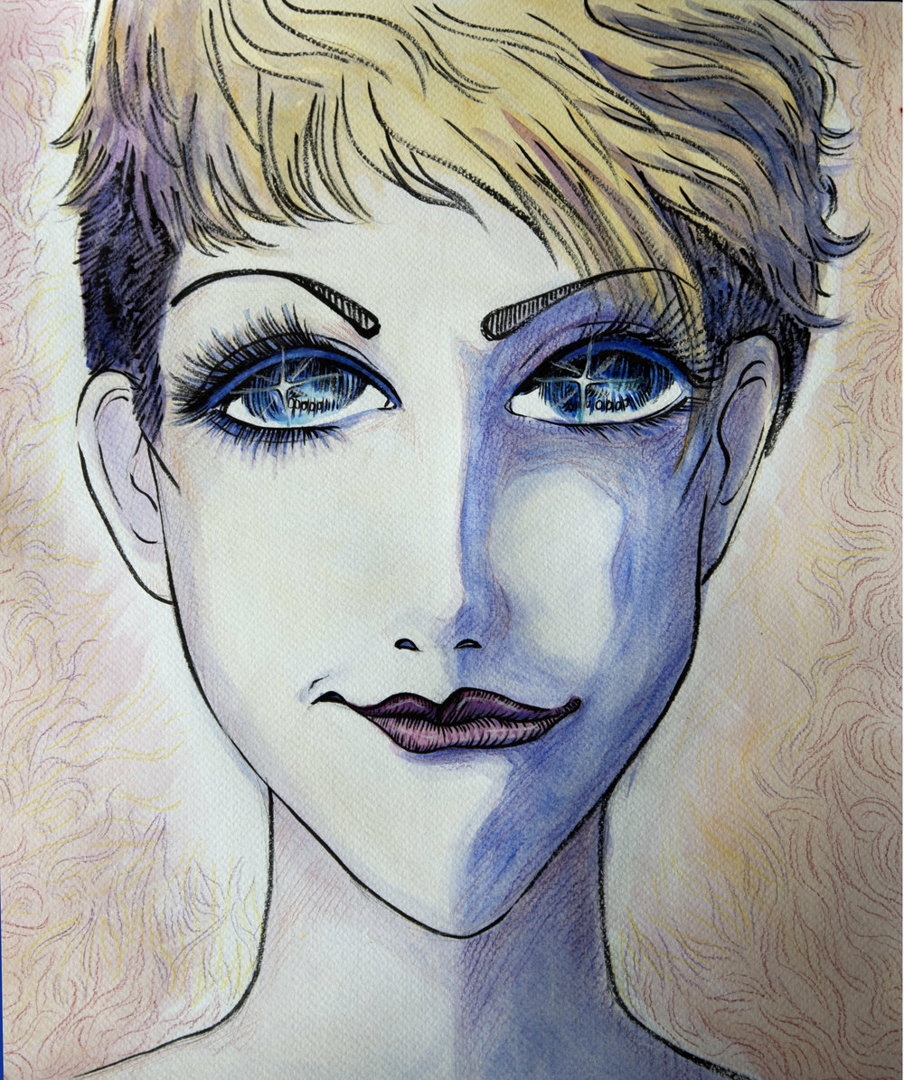 Portrait of Joyce DiDonato, collection of Joyce DiDonato,2018