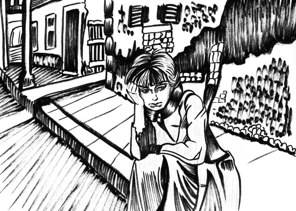 La Strada dir. Federico Fellini, 1954  6/25/18 #248