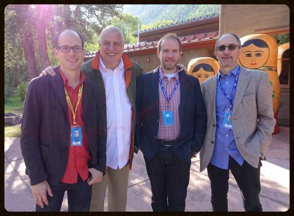 Jason Springarn-Koff (New York Times), Errol Morris, Steven Hathaway and John Kusiak