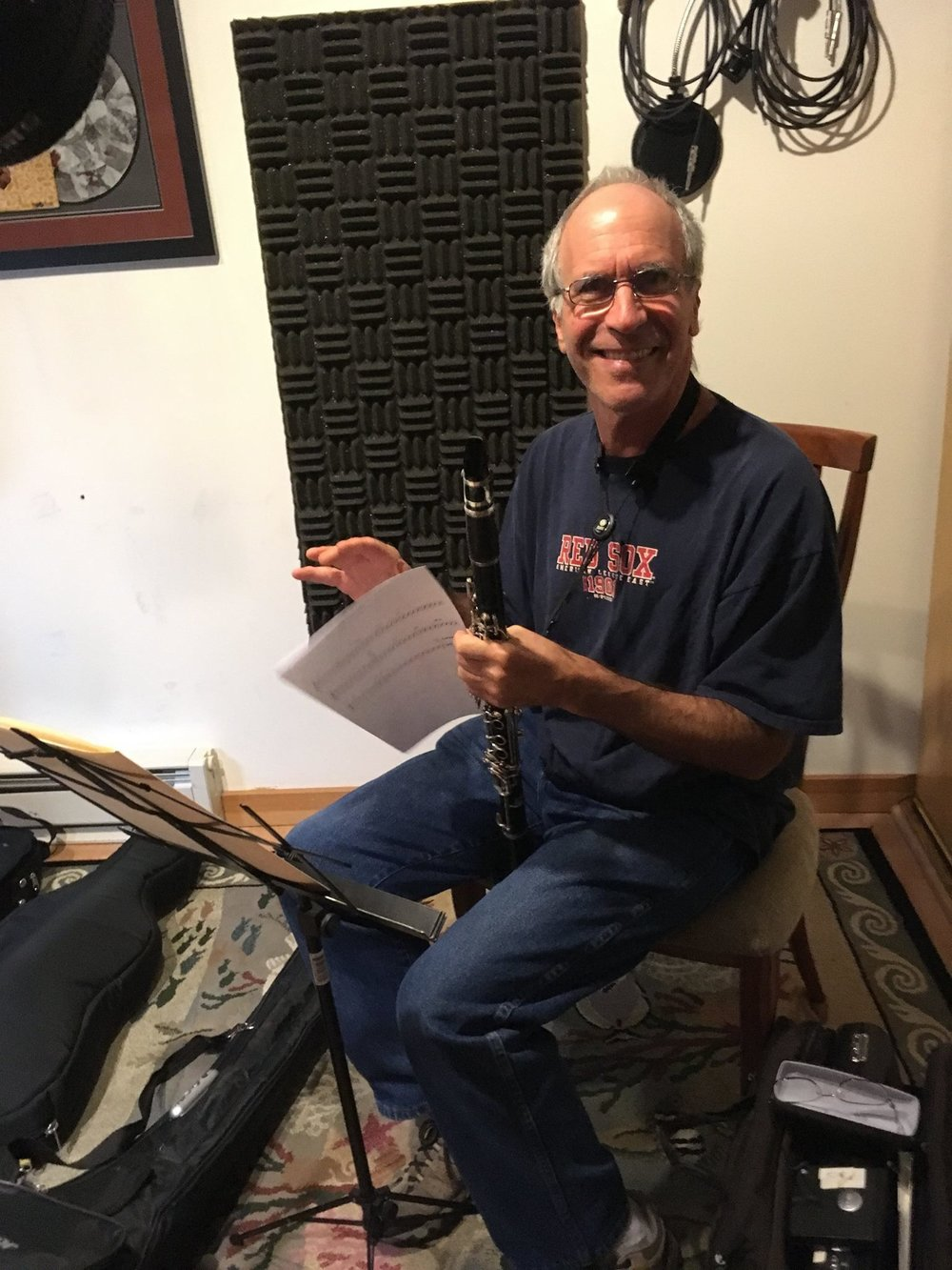 Billy Novick , clarinet