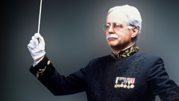 Keith Brion as John Philip Sousa, May 15