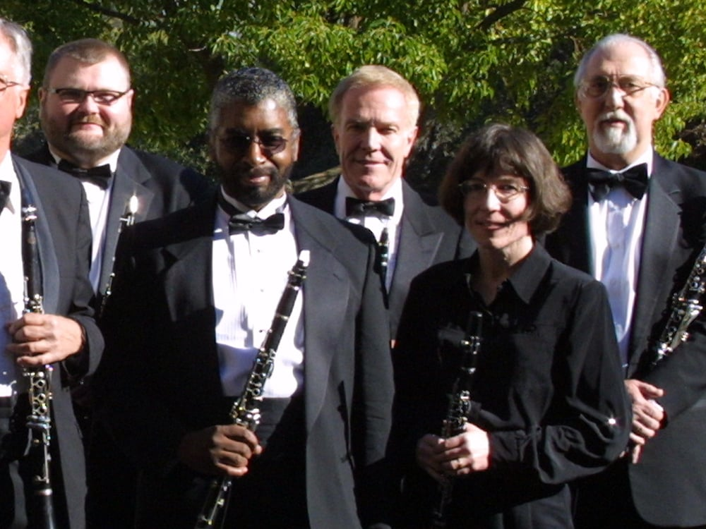 SJWS Clarinet Section,  February 2003