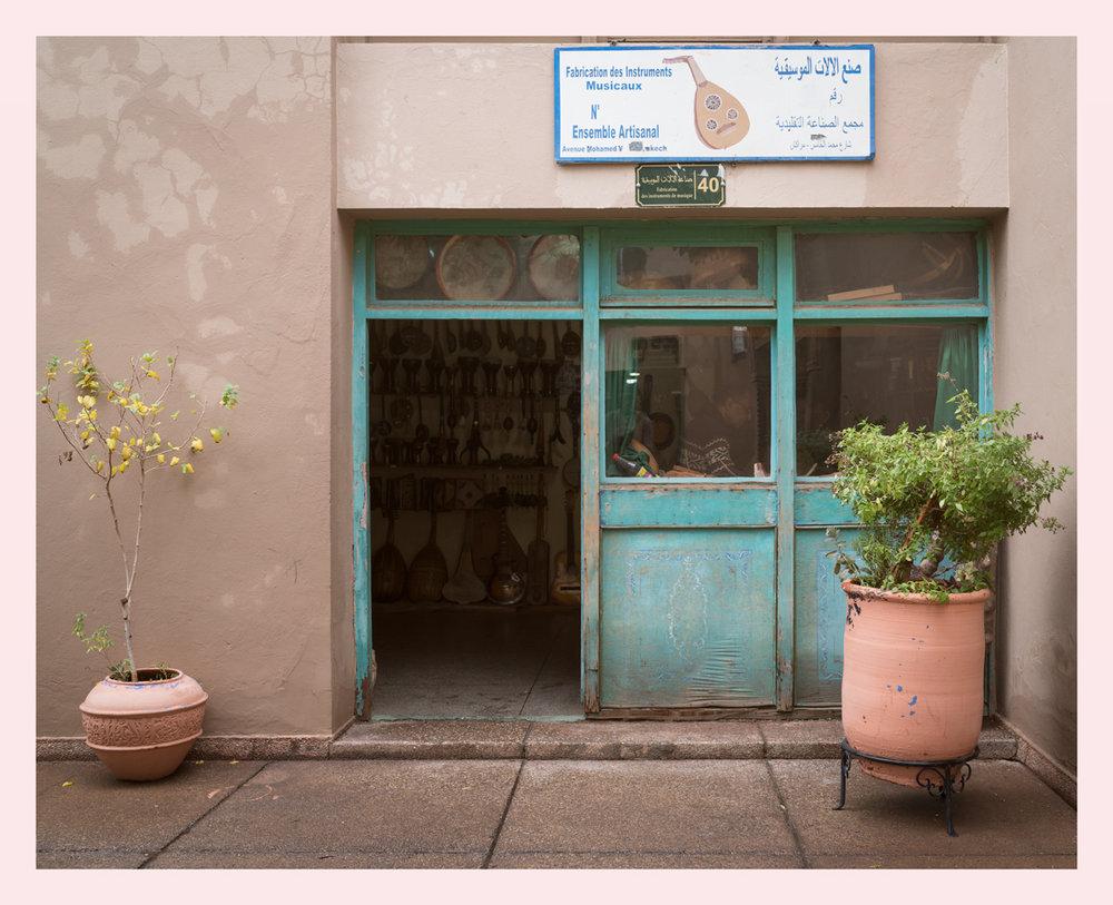Marrakech shops