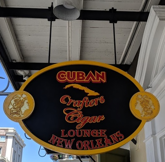 - Cuban Crafters Cigar Lounge. French Quarter.