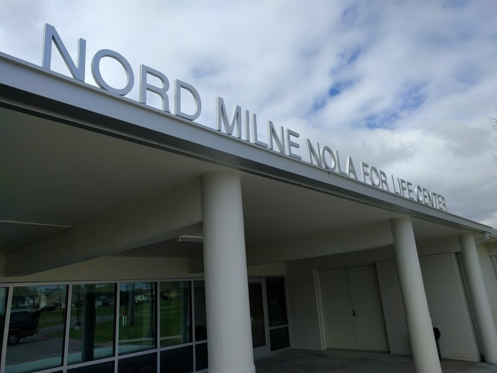 Nord Milne Nola For Life Center. Gentilly.