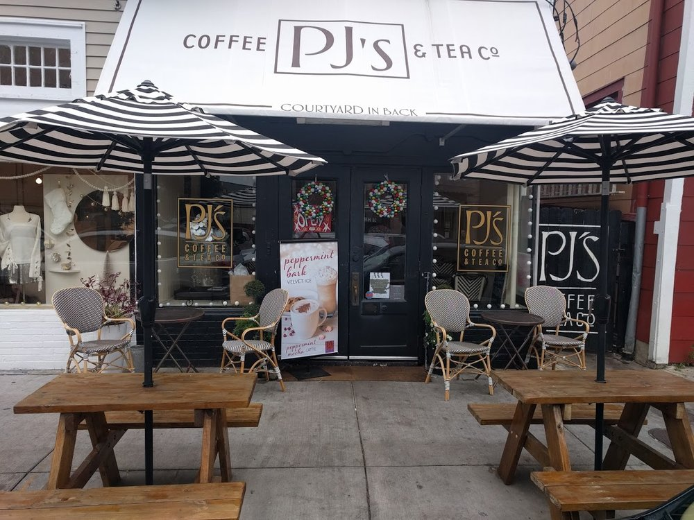PJ's Coffee. West Riverside.