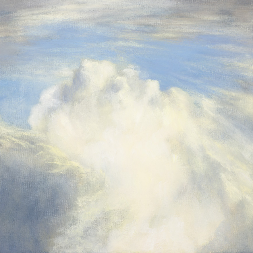 On the Wing VII, Oil on Canvas, 45x45cm, $1300