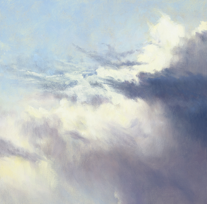 In the Air VI, Oil on Canvas, 30x30cm, Sold