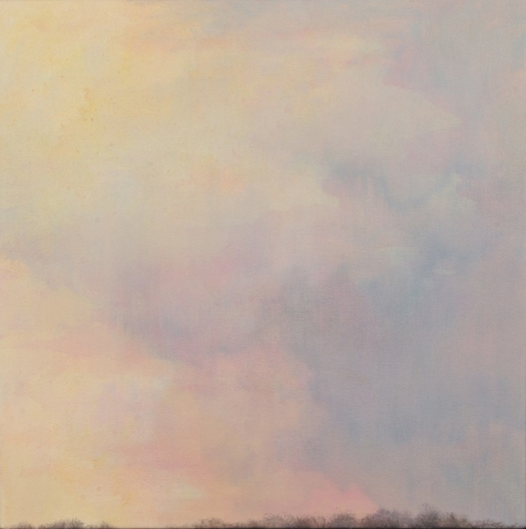2005: In the Wind IV, Oil on Canvas, 46 x 46cm, Sold