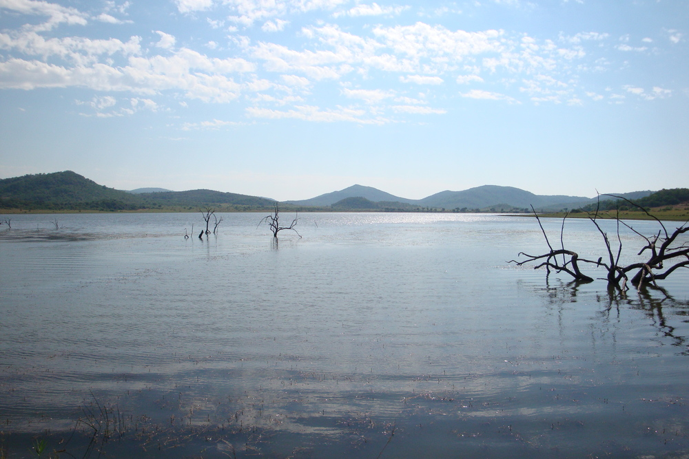 Mankwe Dam in the Pilanesberg, popular spot