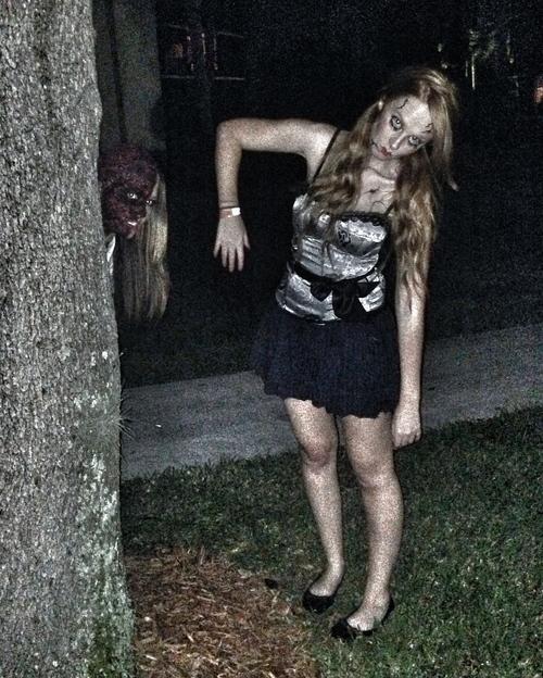broken doll halloween