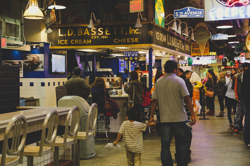 L.D. BASSETT Inc Ice Cream in Reading Terminal Market